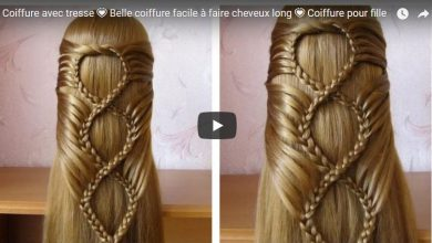 Hairstyle with braid