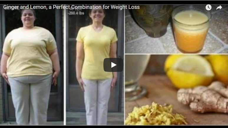 Ginger and lemon-a perfect combination for weight loss
