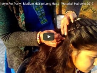 Simple hairstyle