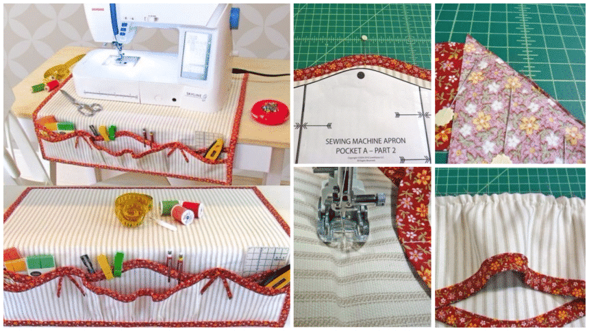 How to sew a organizer for sewing machine