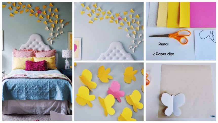 How to make 'Come fly with me' wall art