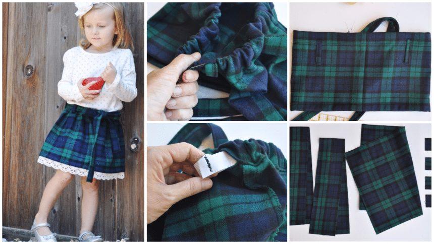 How To Sew A Tartan Skirt
