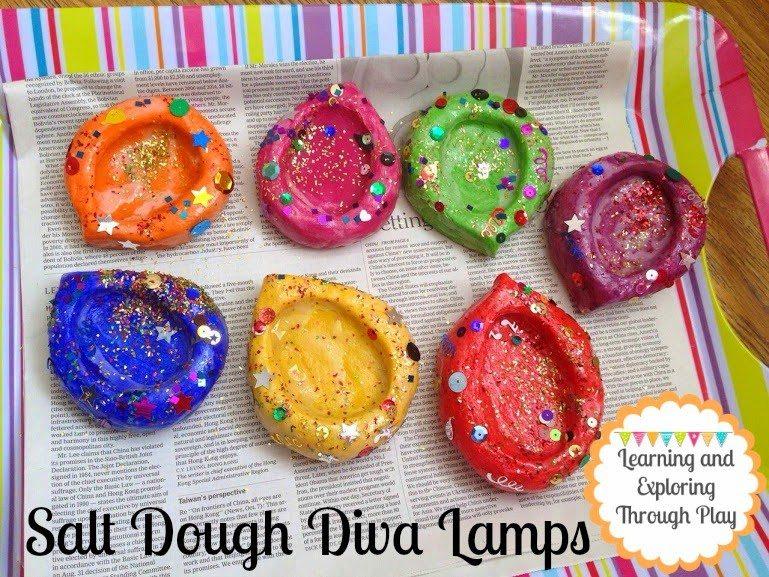 salt dough diva lamps
