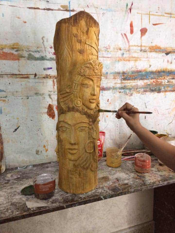How To Mural Clay Art Simple Craft Ideas