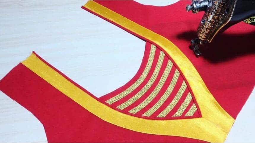 Kurta neck design cutting and stitching – Simple Craft Ideas
