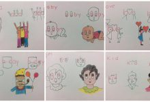 Kids friendly drawings