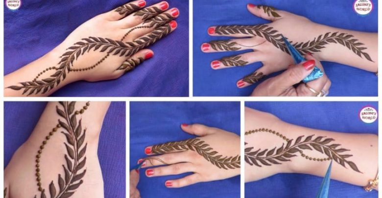 Simple Arabic Henna Mehndi Designs Simple Craft Ideas