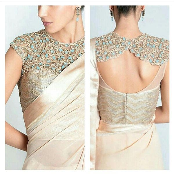 Blouse back neck designs simple craft ideas for New check designs