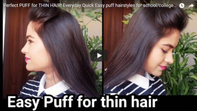 puff hairstyle