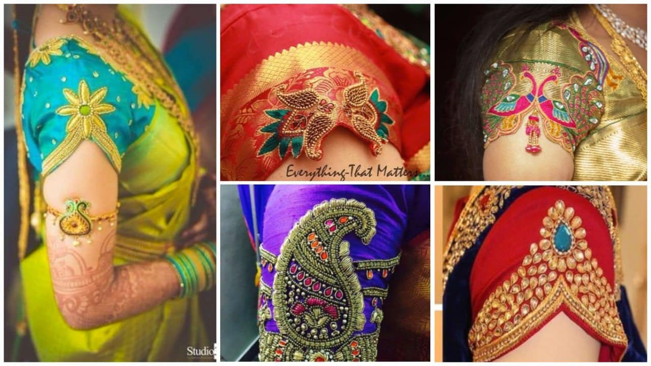 Different types of blouse sleeves
