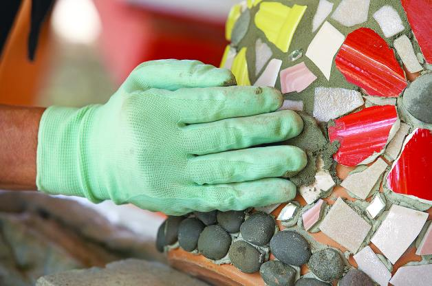 How To Decorate Fflower Pots With Mosaic Tiles Simple