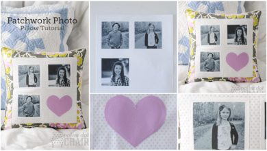 photo pillow tutorial