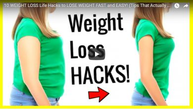 weight loss life hacks