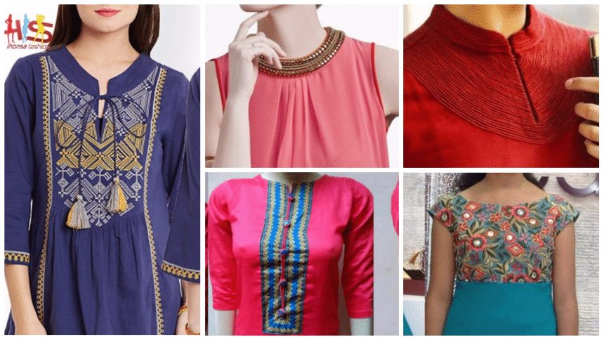Simple Front Designs For Kurtis Simple Craft Ideas