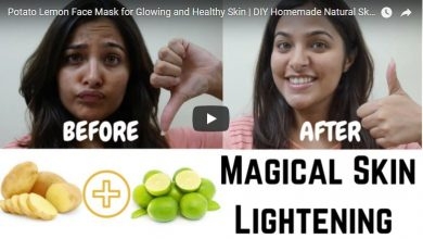 glowing and healthy skin