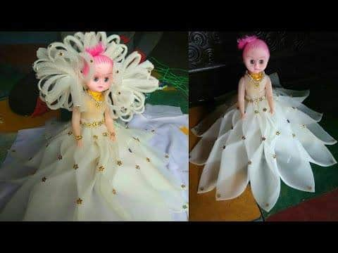 How to make the decorative doll .