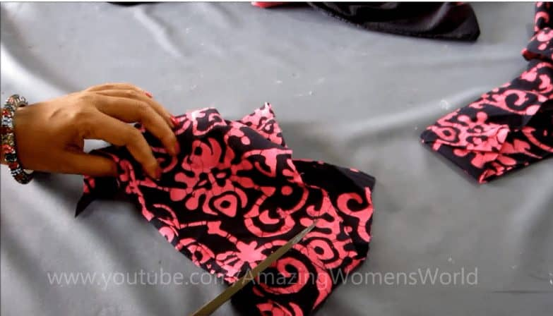 dupatta edging with beaded tassels