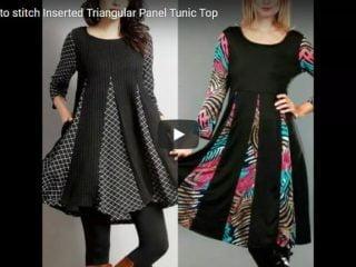 panel tunic top