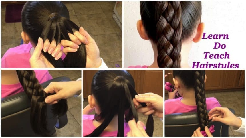 6 Strand diamond back braid