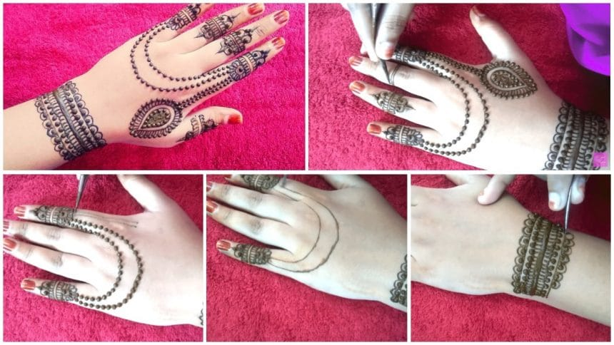 Jewellery Mehndi Design For Beginners Simple Craft Ideas
