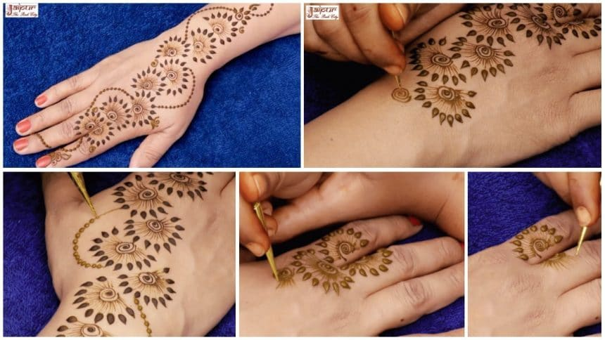 New Latest Henna Mehndi Designs For Hands Simple Craft Ideas