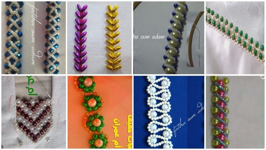 Bead Embroidery Tutorials And Designs For Beginners Simple Craft Ideas