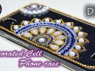 cell phone case decoration