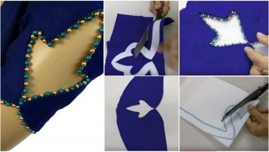 Very beautiful sleeves designs cutting and stitching