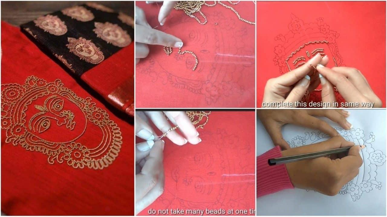 Trending,beautiful and creative neck design making for kurtis