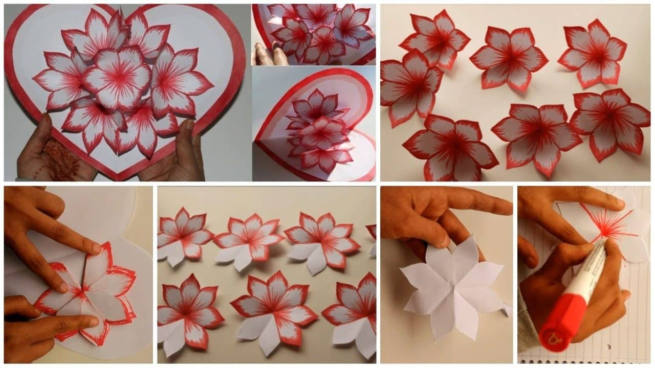 How To Make Love Pop Up Card For Valentine S Day Simple Craft Ideas
