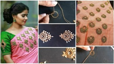 Jewellery embroidery