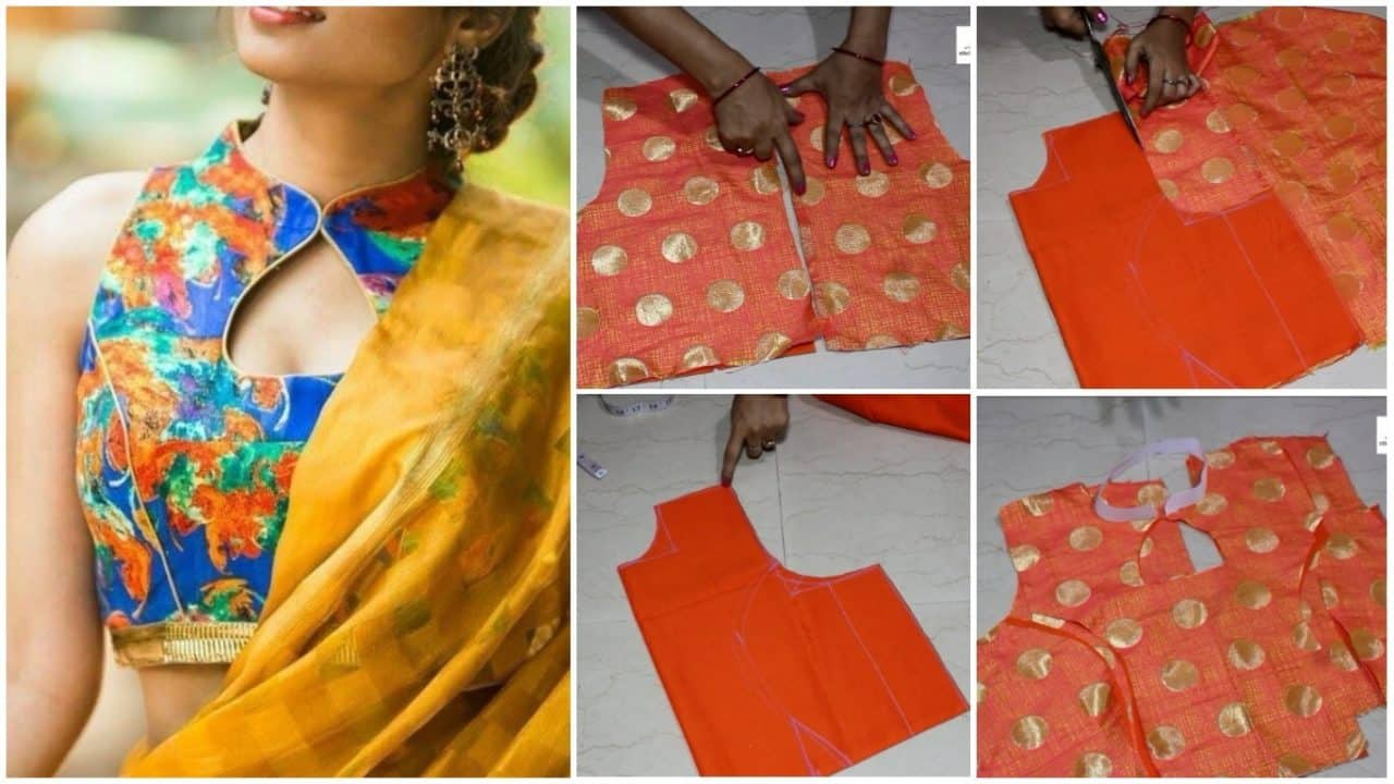Princess cut cutting and stitching for kurti and blouse