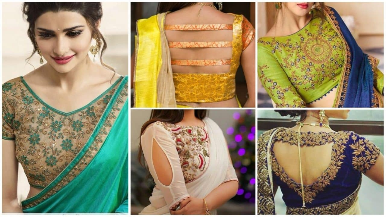 New interesting blouse trends indian bride