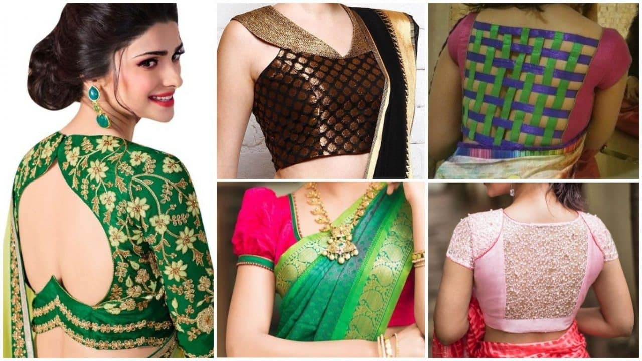 blouse back neck designs simple craft ideas