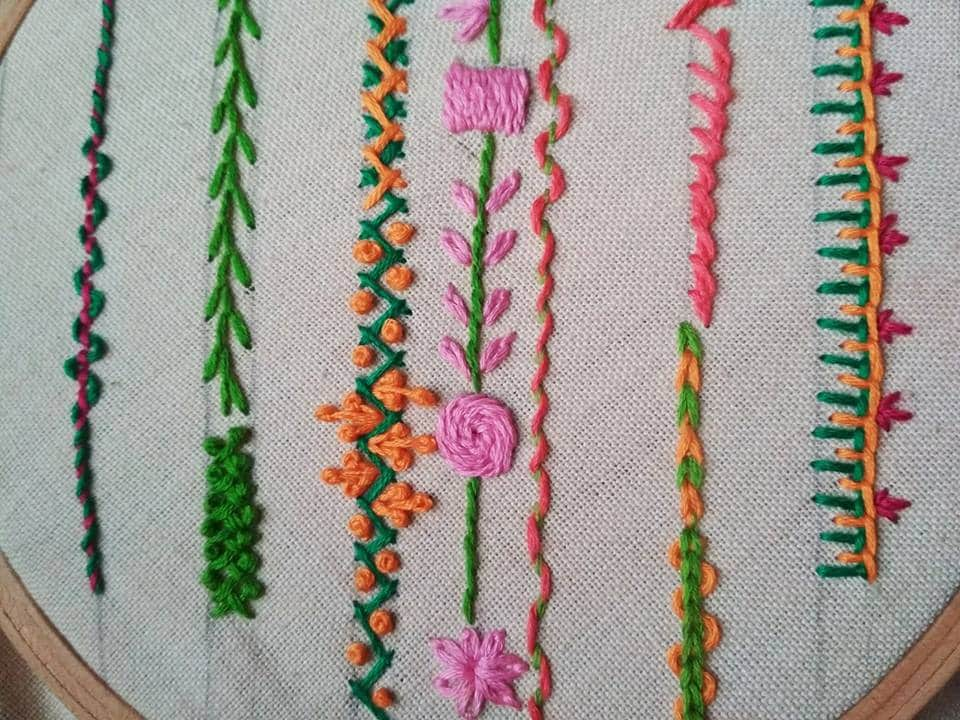 Basic stitches for beginners