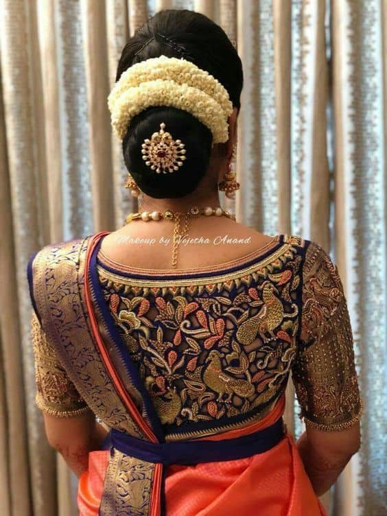 Evergreen And Trendy Saree Blouse Back Designs Simple