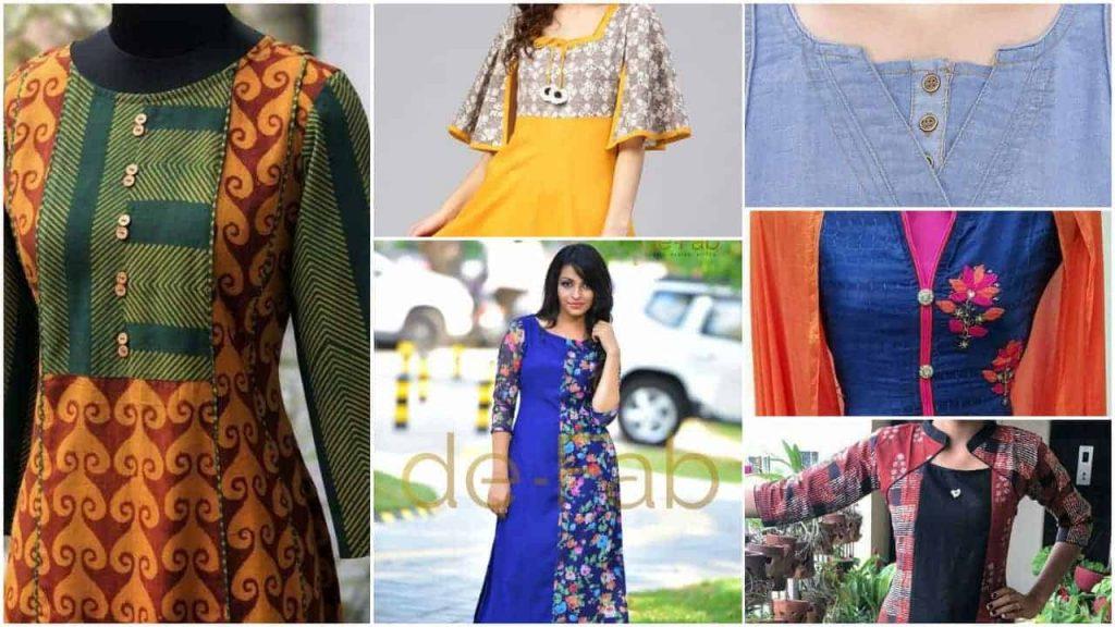 Salwar kameez and kurti neck designs – Simple Craft Ideas
