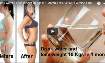 Drink water and lose weight 10 Kgs in 1 month