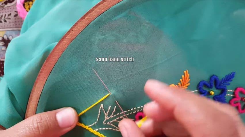 mirror style stitching