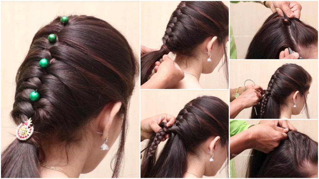 New Braid Hairstyle For Girls Simple Craft Ideas