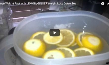 Lose weight fast with lemon, ginger weight loss detox tea