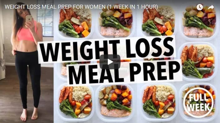 Weight loss meal prep