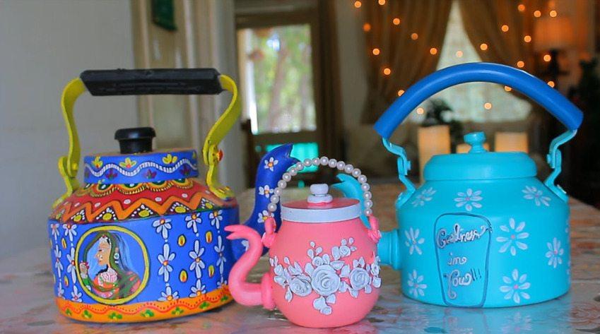 decorative kettle