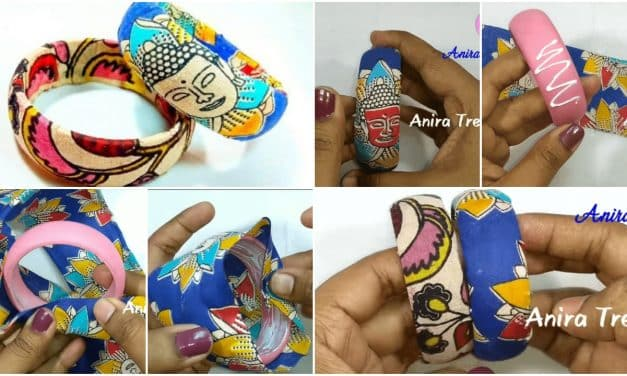 How to make Kalamkari bangle
