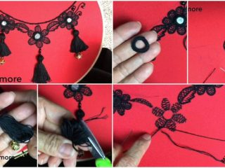 design with tassels