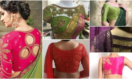 30 stunning and unique blouse designs for bridal dresses