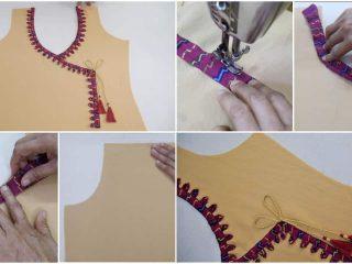 Latest stylish neck design