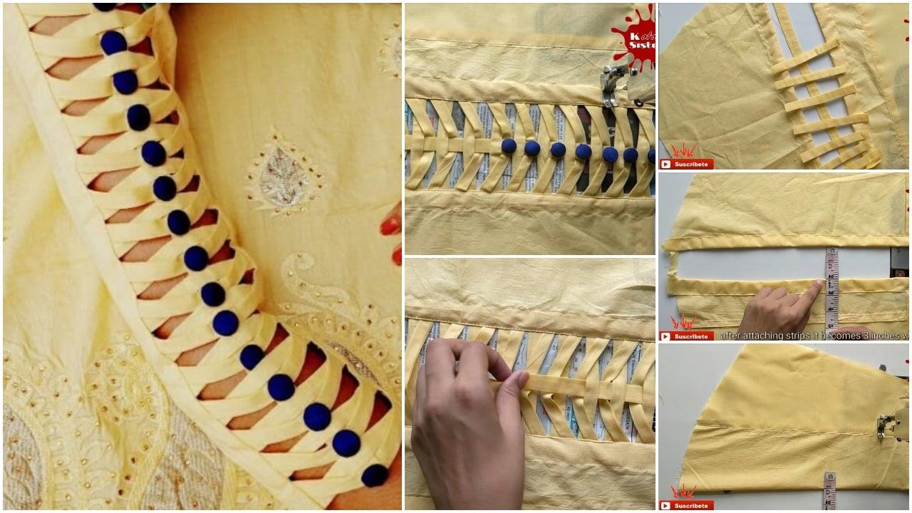 stylish sleeves design