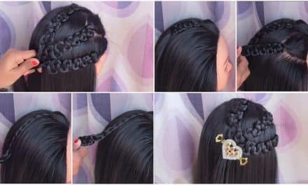 How to easy party wear hairstyles