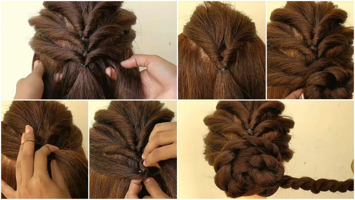 Beautiful Hairstyles For Function Simple Craft Ideas